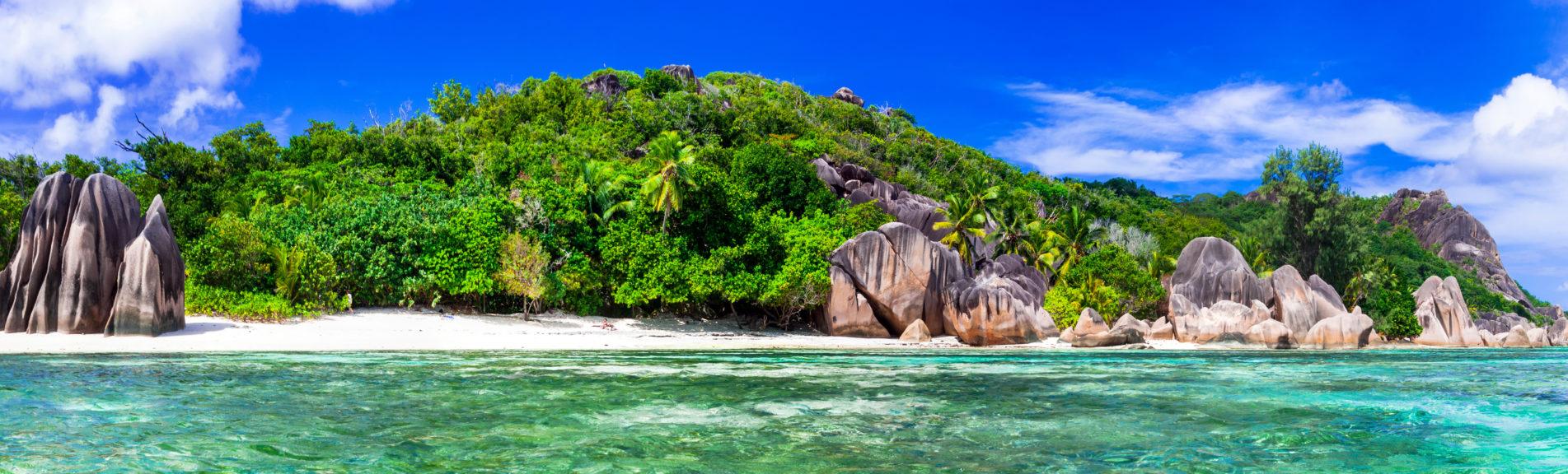 Most beautiful tropical beach